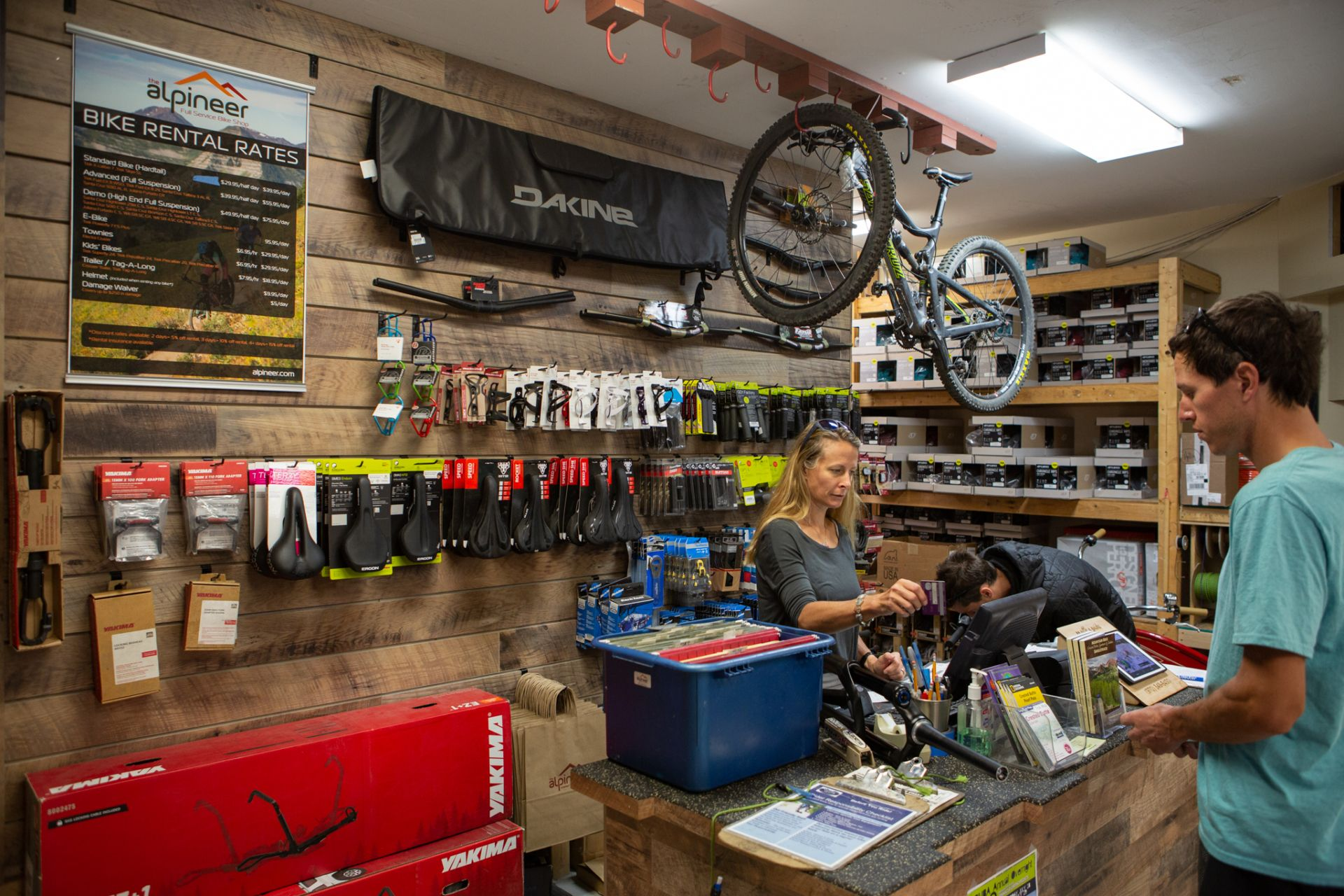 The Alpineer - Crested Butte Bike Shop - Bike Rentals - Ski and Bike Shop
